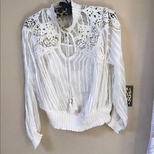 Anthropologie blouse size 8
